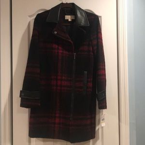Michael by Michael Kors Plaid Coat NWT